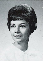 Becky Cranston, then Becky Gralow, in 1964 when she graduated from UW-Stout.