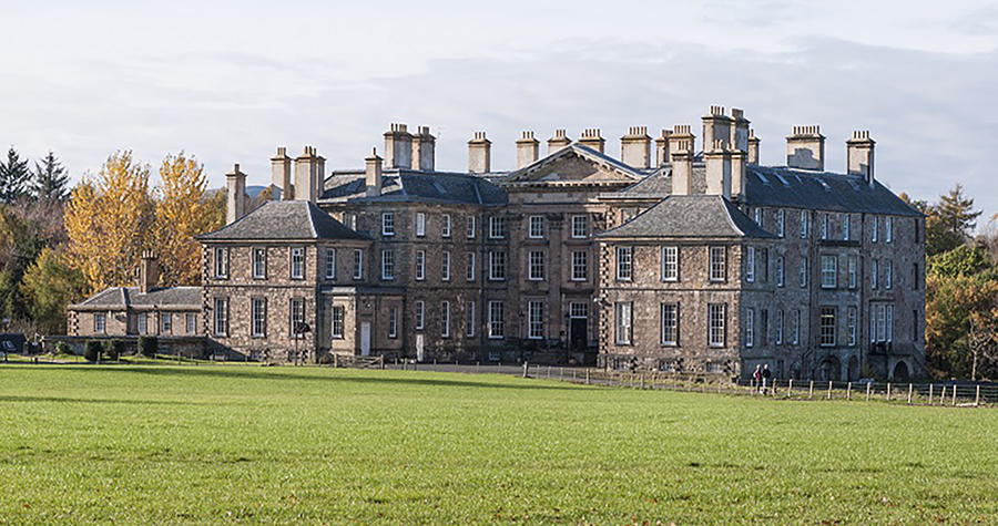 ​​​​​​​Dalkeith House in Dalkeith, Scotland, hosts the Wisconsin in Scotland program.