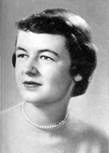 Grace Ostenso in 1954, when she graduated from UW-Stout