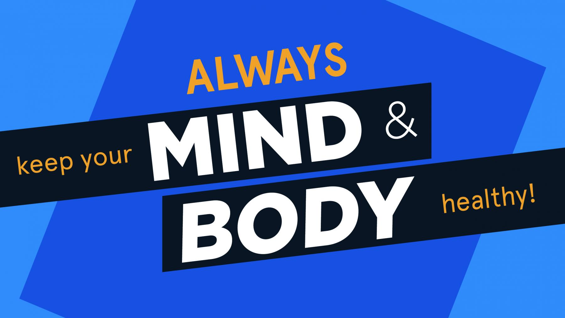keep your mind and body healthy uwstout student health center