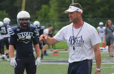 Clayt Birmingham, UW-Stout football coach