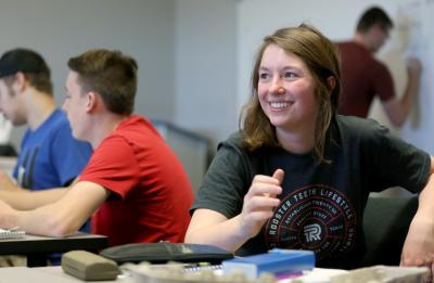UW-Stout students in a Psychology of Video Games course.