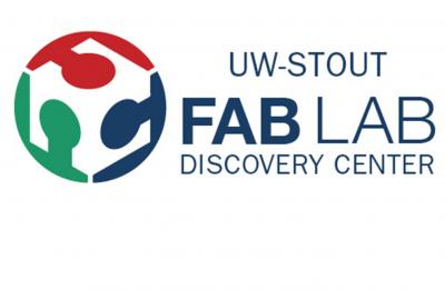 UW-Stout's Fab Lab logo mark.