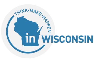 Wisconsin Economic Development Corporation (WEDC) logo.
