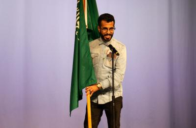 Sulaiman Alharbi at International Night, November 2019.
