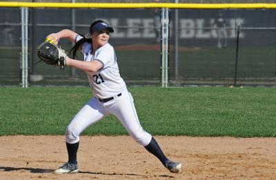 Jessica Daley, Blue Devils softball middle infielder.