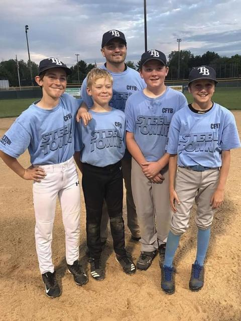 Kjellberg, an Elk Mound High School graduate, has helped coach a youth baseball team for three years.